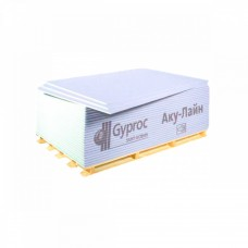 Гипсокартон звукоизоляционный ACOUSTICGROUP Gyproc AKU-Line 2000х1200х12,5 мм (2.4 м2)