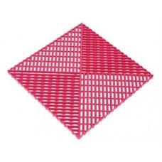 Решётка с дополнительным обрамлением, цвет Розовый
