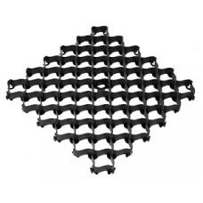 Решётка усиленная с высоким профилем, цвет Черный