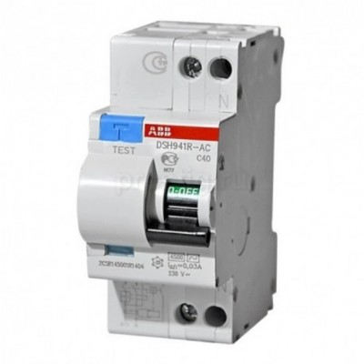 Автомат дифференциальный ABB DSH941R C16 30мА, номинальный ток 16А