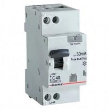 Автомат дифференциальный 1P+N Legrand RX3 AC-C10/0.03, номинальный ток 10А