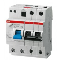 Автомат дифференциальный 2P ABB DS202 AC-C10/0.03, номинальный ток 10А
