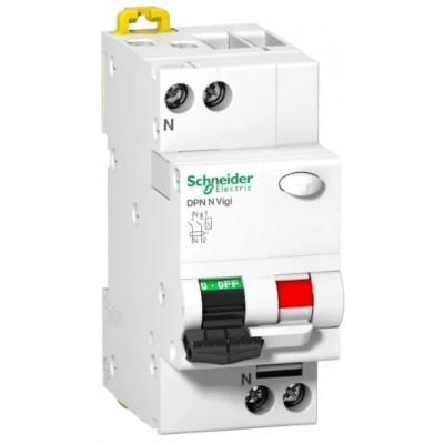 Автомат дифференциальный 2P Schneider Electric DPN N VIGI 30мА, номинальный ток 16А