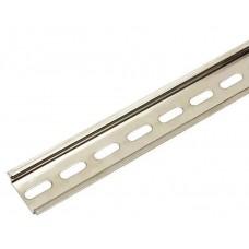 DIN-рейка IEK перфорированная 35x7.5 мм, длина 10 см