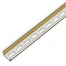 DIN-рейка ABB перфорированная 35x7.5 мм (12 модулей), длина 21 см