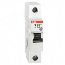 Автоматический выключатель ABB SH201L 1P 40А (C) 4,5kA 2CDS241001R0404