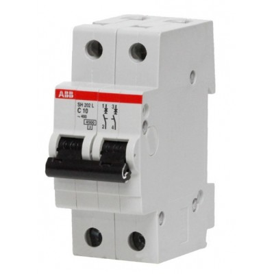 2CDS242001R0164 ABB SH202L Автоматический выключатель 2P 16А (С) 4,5kA