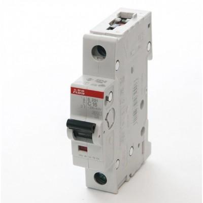 2CDS241001R0164 ABB SH201L Автоматический выключатель 1P 16А (C) 4,5kA