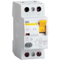 УЗО 2х-полюсное IEK ВД1-63 AC-100/0.03, номинальный ток 100А