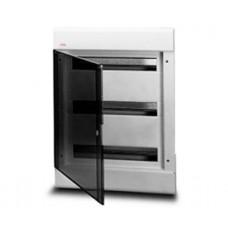 Бокс ABB на 54 автоматов (встраиваемый) Прозрачный / Белый