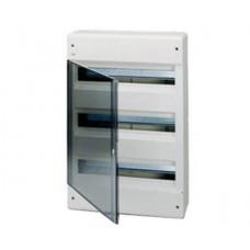 Бокс ABB на 54 автоматов (наружный) Прозрачный/Белый