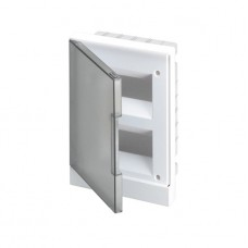 Бокс в нишу 16М серая прозрачная дверь Basic E (с клеммами) ABB