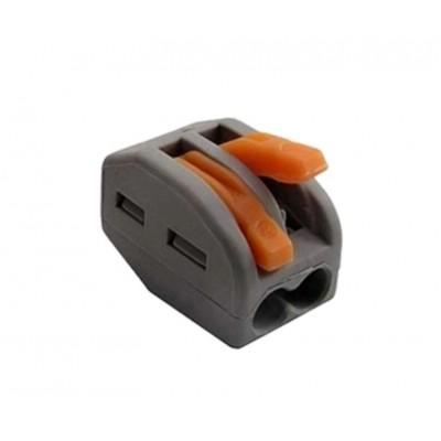 Вага многоразовая для мягкого провода 2 контакта с зажимом.