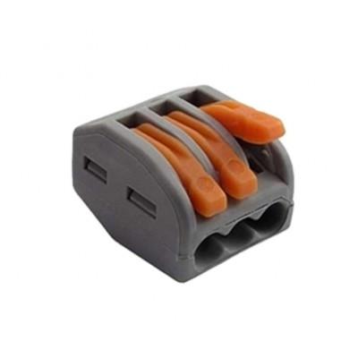 Вага многоразовая для мягкого провода 3 контакта с зажимом.