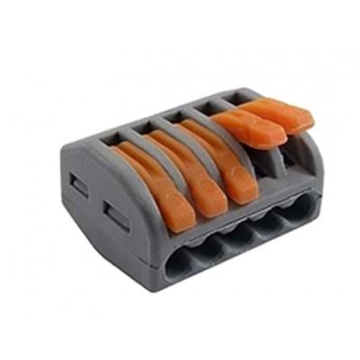 Вага многоразовая для мягкого провода 5 контактов с зажимом