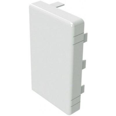 Заглушка для кабель-канала ДКС LAN (белая), 120х40 мм