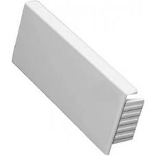 Заглушка торцевая Legrand Metra (белая), 100х50 мм