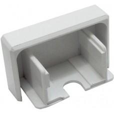 Заглушка торцевая Legrand DLP (белая), 65х150 мм
