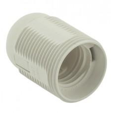 Патрон подвесной термостойкий пластик Е27 белый