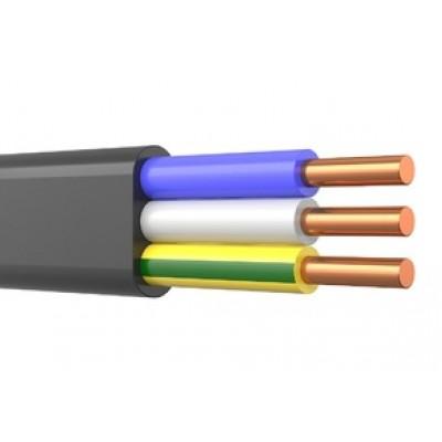 Кабель ВВГ-Пнг(А)-LS 3х4-0,66 ГОСТ
