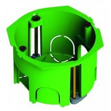 Подрозетник (коробка установочная) 68х45 металлические лапки с саморезами HEGEL