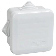 Коробка распаечная для о/п 70х70х40 IP55 6 вводов Промрукав