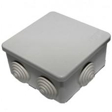 Коробка распаечная для о/п 100*100*50мм 6 вводов IP54 Рувинил
