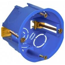 Подрозетник (коробка установочная) 68х45 пластиковые лапки с саморезами HEGEL | КУ1201 |