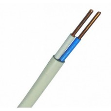Провод ПУНП установочный медный (ГОСТ), 2х1.5 мм2