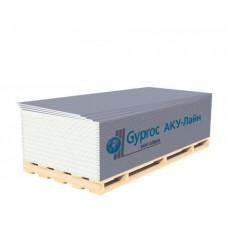 Гипсокартон Gyproc AKU-Line 2500х1200х12,5 мм звукоизоляционный