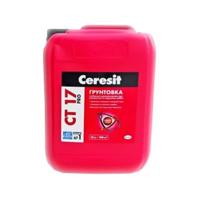 Грунтовка Ceresit CT 17 глубокого проникновения 10 л.