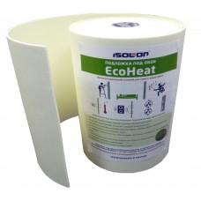 Подложка под обои ИЗОНОЛ Еcoheat, 14000x500x5 мм (7 м2) тепло- звукоизоляционная