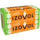 Каменная вата IZOVOL Л-35 1200х600х100, 4шт (2,88 м2)