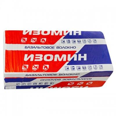Утеплитель Изомин Лайт 25 - 1200x600x100 мм 2.88 м2 0.288 м3 Минвата (базальт)