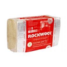 Каменная вата ROCKWOOL Сауна Баттс 1000х600х50, 8 шт (4.8 м2)