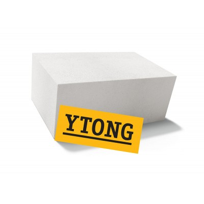 Блок Ytong  D500 625х250х300 мм из ячеистого бетона газосиликатный