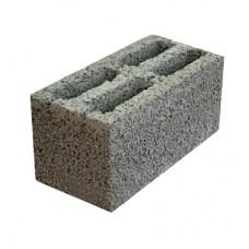 Блок керамзитобетонный четырехпустотный стеновой АКЗ СКЦ-4 390х190х188 мм