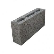 Блок керамзитобетонный двухпустотный перегородочный АКЗ ПКЦ-2 390х90х188 мм