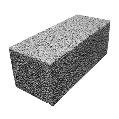 Блок керамзитобетонный фундаментный АКЗ ФБС 390х190х188 мм