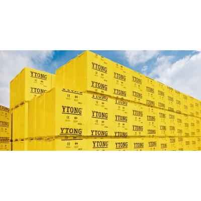 Блок Ytong  D500 625х250х100 мм из ячеистого бетона газосиликатный