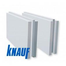 Пазогребневая гипсовая полнотелая плита (ПГП) Кнауф 667х500х100 мм вес 33 кг/плита
