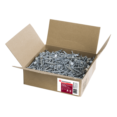 Ершенные гвозди оцинкованные Шинглас, 30х3,5 мм 5 кг