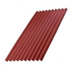 Ондулин Лист Smart Красный 1950х960х3 мм (1,87 м2)