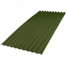 Ондулин Лист Smart Зеленый 1950х960х3 мм (1,87 м2)