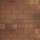 Гибкая черепица Технониколь Shinglas Фламенко, цвет Толедо, однослойная