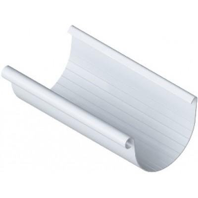 Жёлоб водосточный ПВХ, цвет Белый