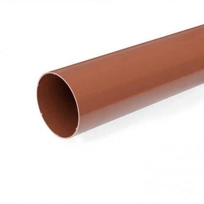 Водосточная труба Bryza длина 3 м. диаметр 63 мм RAL 8017