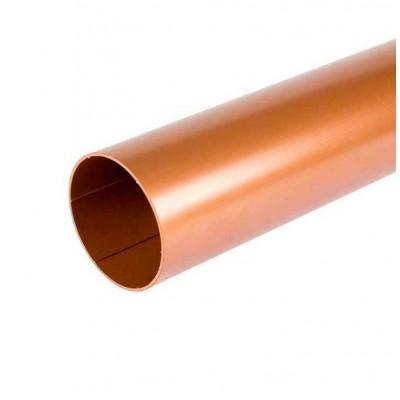 Водосточная труба Bryza длина 3 м. диаметр 63 мм Медь