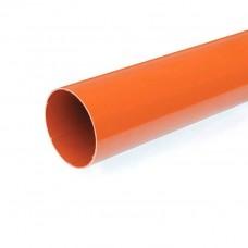 Водосточная труба Bryza длина 3 м. диаметр 110 мм RAL 8004