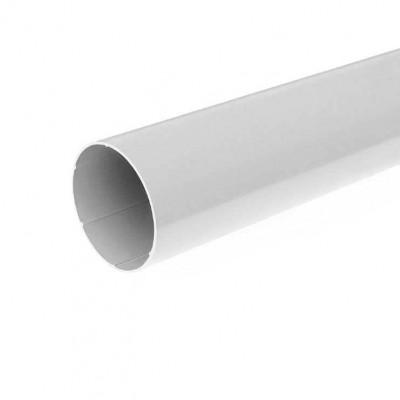 Водосточная труба Bryza длина 3 м. диаметр 63 мм RAL 9010